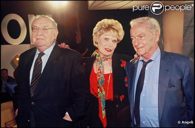 Léon Zitrone, Simone Garnier et Guy Lux