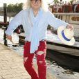 Pierre-Jean Chalençon - 7ème édition du Trophée de la Pétanque Gastronomique au Paris Yacht Marina à Paris le 27 juin 2019. © Christophe Aubert via Bestimage