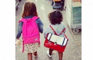 Amel Bent : Ses filles Sofia et Hana, adorable duo pour la rentrée