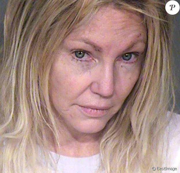 Le mug shot de Heather Locklear après son arrestation pour violences conjugales. Ventura, le 26 février 2018.