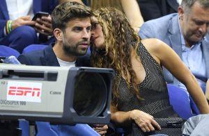 Shakira et Gerard Piqué complices à l'US Open, pour soutenir Rafael Nadal