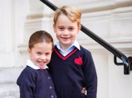 George et Charlotte de Cambridge : Kensington dévoile la photo de leur rentrée