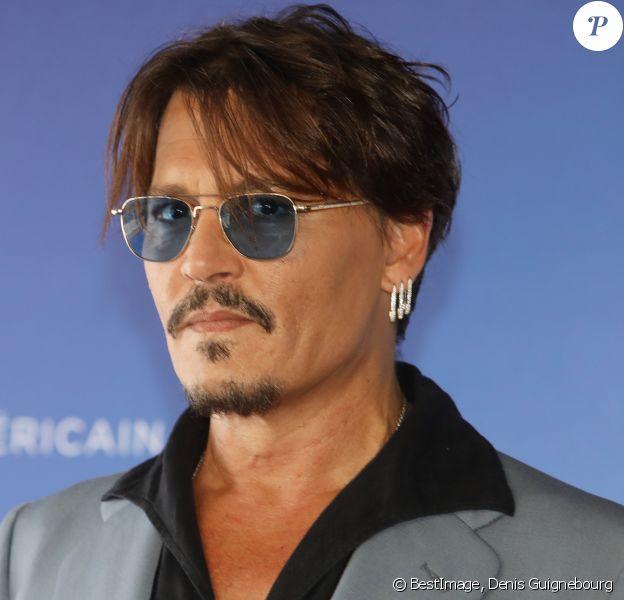 """Johnny Depp - Photocall du film """"Waiting For The Barbarians"""" lors du 45éme festival du Cinéma Américain de Deauville le 8 septembre 2019. © Denis Guignebourg/Bestimage"""