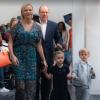 Jacques et Gabriella de Monaco : Leur rentrée à l'école avec Charlene et Albert