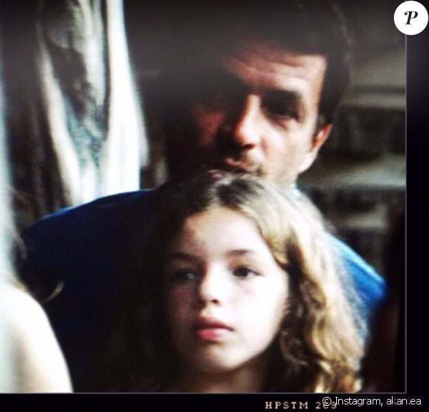 Angelica, fille de Philippe Zdar et Aure Atika, sur Instagram.