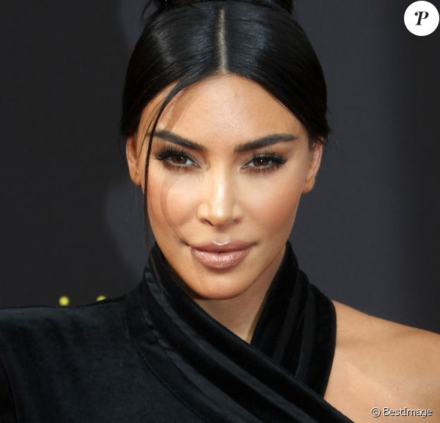 """Kim Kardashian à la soirée des """"2019 Creative Arts Emmy Awards"""" au Microsoft Theater à Los Angeles, Californie, Etats-Unis, le 14 septembre 2019."""