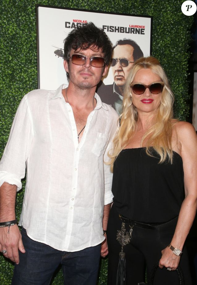 "Jake Marcus, Nicollette Sheridan - Première du film ""Running with the devil"" au Writers Guild Theater à Beverly Hills. le 16 septembre 2019"