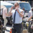 Chris Meloni sur le tournage de New York Unité Spéciale