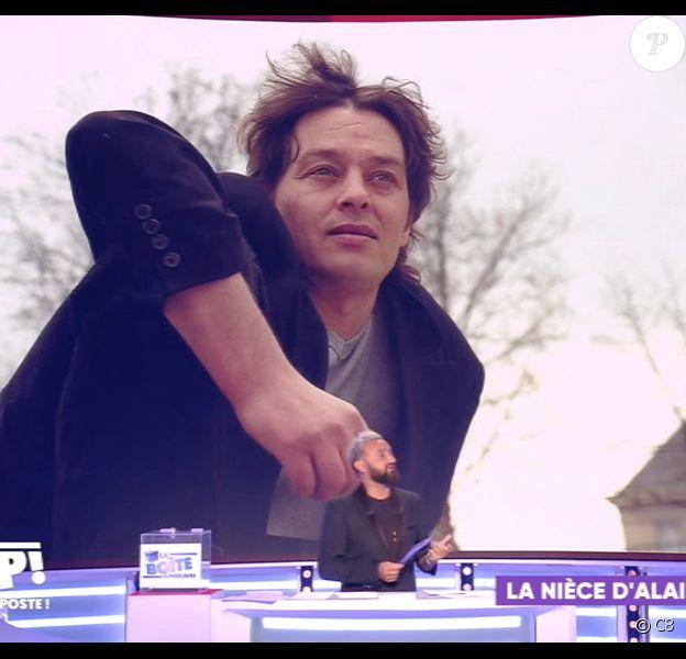 Images d'Ari Boulogne diffusées dans TPMP, sur C8, le 5 septembre 2019.