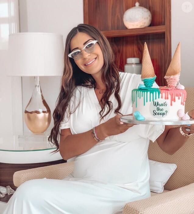 Martika a fait une fête pour annoncer si elle était enceinte d'une petite fille ou d'un petit garçon, le 19 septembre 2019