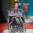 Défilé Moschino, collection prêt-à-porter printemps-été 2020 lors de la Fashion Week de Milan. Le 19 septembre 2019.