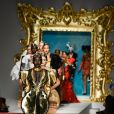 "Défilé Moschino ""Collection Prêt-à-Porter Printemps/Eté 2020"" lors de la Fashion Week de Milan (MLFW), le 19 septembre 2019."