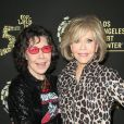 "Lily Tomlin, Jane Fonda - Soirée LGBT ""Hearts Of Gold"" à Los Angeles Le 21 septembre 2019."