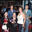 """Marcia Gay Harden et sa famille à la Première de """"Harry Potter et le Prince du Sang-Mêlé"""" à NYC (9 juillet 2009)"""