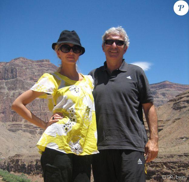 Hélène de Fougerolles et Raymond Domenech à Las Vegas, 9 juillet 2009