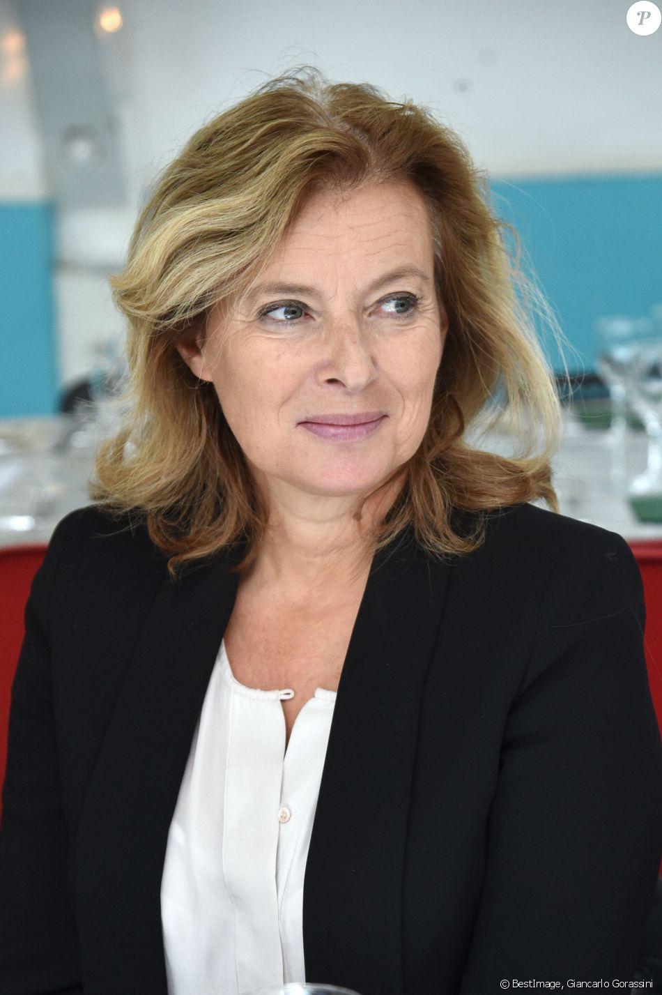 Valérie Trierweiler - Déjeuner pour le lancement de la campagne des Pères Noël Vert au siège du Secours Populaire à Paris le 24 septembre 2019. © Giancarlo Gorassini/Bestimage