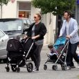 Stella McCartney, son mari et ses enfants