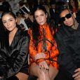 Olivia Culpo, Halsey et le rappeur Tyga assistent au défilé Off-White™, collection prêt-à-porter printemps-été 2020 lors de la Fashion Week de Paris, le 26 septembre 2019. © Veeren-Clovis/Bestimage
