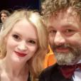 Anna Lundberg et Michael Sheen sur Instagram le 24 mai 2019.