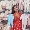 Martika enceinte, en plein shopping pour son bébé, le 31 août 2019, sur Instagram
