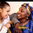 """Azize Diabaté, sa partenaire Denitsa Ikonomova et sa maman Kadiatou- Contemporain- Soirée de la love night pour le second prime de """"Danse avec les stars 2019"""" - Samedi 28 septembre 2019, sur TF1."""