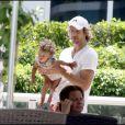 Halle Berry, son compagnon Gabriel Aubry et leur petite Nahla, en vacances à Miami Beach !