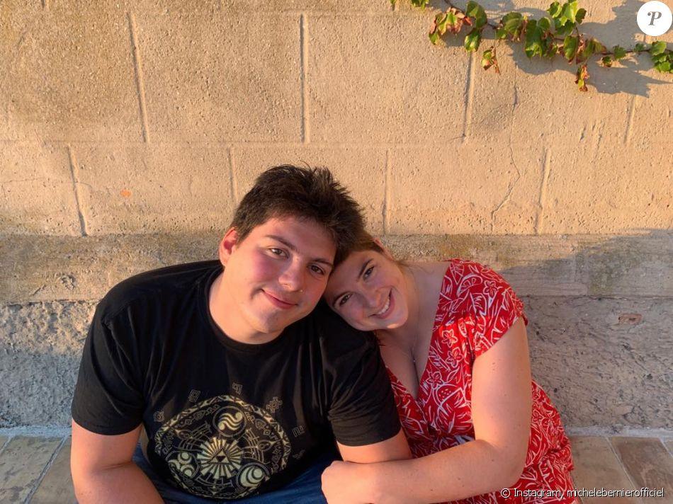 Michèle Bernier a partagé cette photo de ses enfants Charlotte et Enzo, sur Instagram, le 1er octobre 2019.