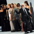 Karl Lagerfeld en pleine Fashion Week