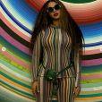 """Beyoncé porte un """"Chiquito"""", le micro sac Jacquemus. Janvier 2019."""
