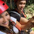 Louis et Marie Ducruet en lune de miel en Indonésie, le 9 octobre 2019.
