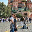 Louis et Marie Ducruet voyagent en Russie le 7 septembre 2019.