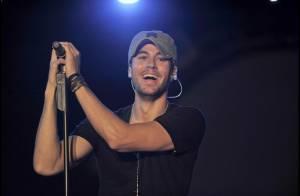 Notre latin lover... Enrique Iglesias en concert à Milan ! Chaud devant !