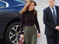 Kate Middleton ressort son sac Chanel pour un nouveau look d'automne réussi
