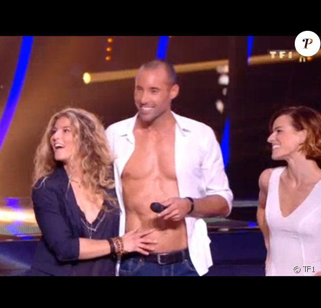 """Eve, la petite amie de Sami El Gueddari, lors du deuxième prime de """"Danse avec les stars 2019"""", le 28 septembre, sur TF1"""