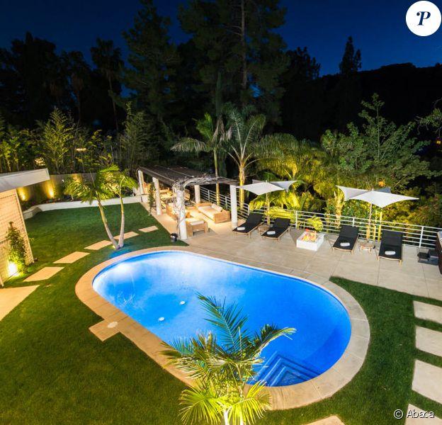 Lea Michele a mis en vente sa chic villa de Los Angeles pour 3,15 millions de dollars. Octobre 2019.