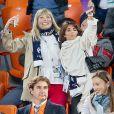 Mélanie Page, Claude Deschamps lors du match de coupe du monde opposant la France au Pérou au stade Ekaterinburg à Yekaterinburg, Russie, le 21 juin 2018. La France a gagné 1-0. © Cyril Moreau/Bestimage