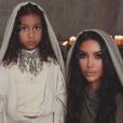 Kim Kardashian, baptisée en Arménie au côté de sa fille North. Le 10 octobre 2019 sur Instagram.