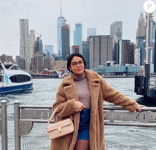 Agathe Auproux à Brooklyn Bridge, sur Instagram, le 6 octobre 2019