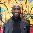 Luc Abalo - Vernissage de l'exposition de l'artiste l'artiste Kongo (Cyril Phan) au Montaigne Market à Paris le 17 octobre 2019. © Jerémy Melloul/ Bestimage