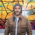 Sébastien Jondeau - Vernissage de l'exposition de l'artiste l'artiste Kongo (Cyril Phan) au Montaigne Market à Paris le 17 octobre 2019. © Jerémy Melloul/ Bestimage