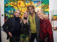 Yannick Noah et sa femme de retour à Paris ? Ils admirent les graffitis de Kongo
