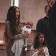 Kim Kardashian et ses enfants Psalm et North en Arménie. Octobre 2019.