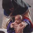 Psalm West, le fils de Kim Kardashian et Kanye West, se fait baptiser en Arménie. Octobre 2019.