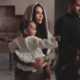 Kim Kardashian et ses enfants Chicago, Saint et North West. Octobre 2019.
