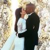 Kim Kardashian renouvelle ses voeux de mariage et ne veut plus d'enfant