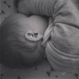 Photo du bébé d'Aude sur Instagram, le 06 octobre 2019.