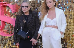 Carrie Fisher aurait eu 63 ans, le vibrant hommage de sa fille Billie Lourd