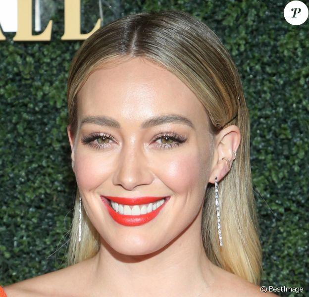 """Hillary Duff à la soirée """"Baby Ball 2019"""" aux studios Goya à Hollywood, Los Angeles, le 12 octobre 2019."""