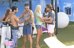 Secret Story 3 : Léo en vient aux mains avec Romain... et finit la nuit dans le lit d'Emilie !