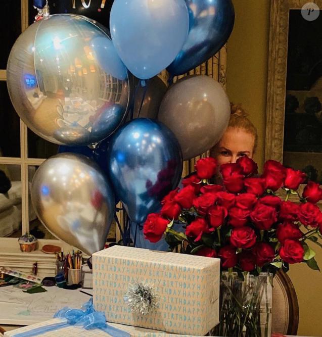 Les cadeaux de Nicole Kidman pour son mari Keith Urban, le 26 octobre 2019.